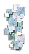 Tranquility TTS by Karo Martirosyan (Art Glass Wall Sculpture)