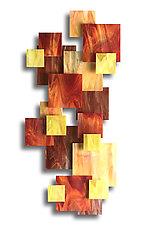 Sunset II by Karo Martirosyan (Art Glass Wall Sculpture)