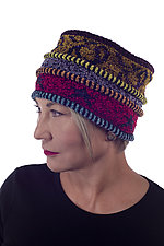 Chenille Star Tuck Hat by Robin Bergman (Knit Hat)