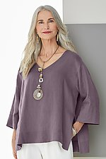 Delphi Top by Go Lightly  (Linen Top)