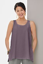 Maia A-Line Tank by Go Lightly (Linen Top)