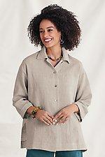 Alexandra Shirt by Go Lightly (Linen Top)