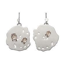 Ciana Earrings by Michelle Pajak-Reynolds (Gold, Silver & Stone Earrings)