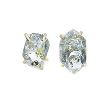 Desma Stud Earrings by Michelle Pajak-Reynolds (Gold & Stone Earrings)