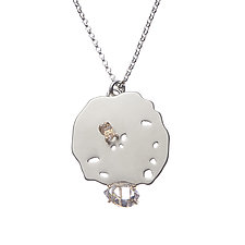 Ciana Pendant by Michelle Pajak-Reynolds (Gold, Silver & Stone Necklace)