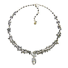 Desma Necklace by Michelle Pajak-Reynolds (Gold, Silver & Stone Necklace)