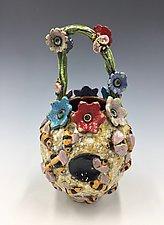 Beehive by Lilia Venier (Ceramic Vase)