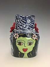 Lola and Candy by Lilia Venier (Ceramic Vase)
