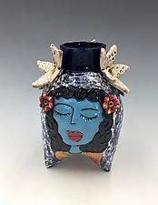Suzie, Rosie, and Ericka by Lilia Venier (Ceramic Vase)