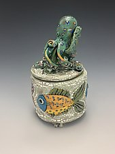 Ocean Buddies by Lilia Venier (Ceramic Jar)