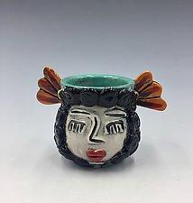 Carmen by Lilia Venier (Ceramic Vase)