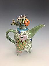 Four Friends by Lilia Venier (Ceramic Teapot)