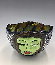 Mediation Time V by Lilia Venier (Ceramic Bowl)