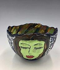 Mediation Time V by Lilia Venier (Ceramic Bowl)