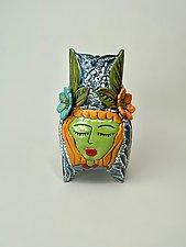 Three Amigas by Lilia Venier (Ceramic Vase)