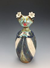 Margarita by Lilia Venier (Ceramic Sculpture)