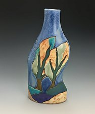 A Breezy Afternoon Vase by Lilia Venier (Ceramic Vase)