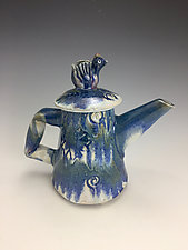 Bluebird of Happiness Teapot by Lilia Venier (Ceramic Teapot)