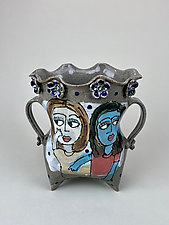 Four Hermanas II by Lilia Venier (Ceramic Vase)