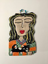 Gini by Lilia Venier (Ceramic Wall Sculpture)