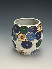 Spring Bloom II by Lilia Venier (Ceramic Vase)