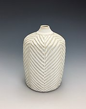 Untitled Vase by Lilia Venier (Ceramic Vase)