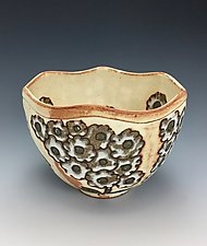 Margaritas II by Lilia Venier (Ceramic Bowl)