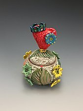 Loving Kingdom by Lilia Venier (Ceramic Jar)