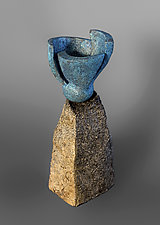 Spring by Jan Hoy (Ceramic Sculpture)
