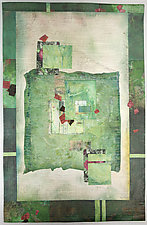 Ever Green by Peggy Brown (Fiber Wall Hanging)
