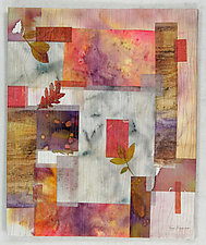 Fragments IV by Peggy Brown (Fiber Wall Hanging)