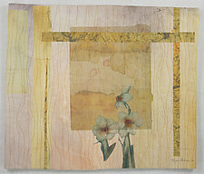 Paper Whites by Peggy Brown (Fiber Wall Hanging)