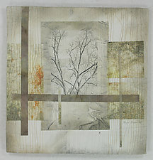 Nearby Forest by Peggy Brown (Fiber Wall Hanging)