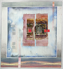 Tuscan Wall by Peggy Brown (Fiber Wall Hanging)