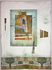 Angled II by Peggy Brown (Fiber Wall Hanging)