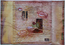 Waterfall Falling by Peggy Brown (Fiber Wall Hanging)