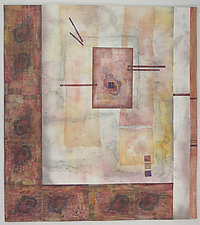 Soliloquy IV by Peggy Brown (Fiber Wall Hanging)