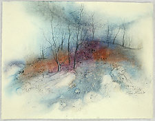 Walk in the Woods by Peggy Brown (Watercolor Painting)