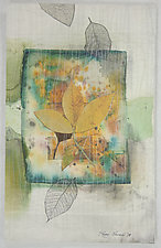 Summer Breeze ll by Peggy Brown (Fiber Wall Hanging)