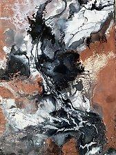Sedimentary Sensuality by Rhona LK Schonwald (Acrylic Painting)