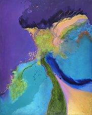 Essence of Energy by Rhona LK Schonwald (Oil Painting & Giclee Print)