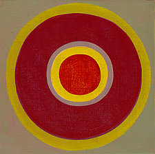 Circles! 48 by Laura Nugent (Acrylic Painting)