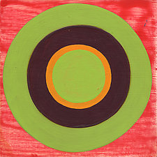 Circles! 11 by Laura Nugent (Acrylic Painting)