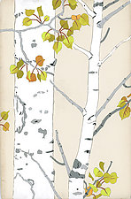 Aspen Summer/Fall by Meredith Nemirov (Giclee Print)