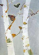 The Butterfly Trees by Meredith Nemirov (Giclee Print)