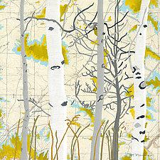 Aspen Map One by Meredith Nemirov (Giclee Print)