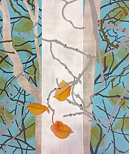 Onset of Winter/Hanging On by Meredith Nemirov (Giclee Print)