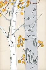 Aspen Autumn by Meredith Nemirov (Giclee Print)