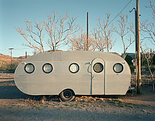 Trailer with Portholes by William Lemke (Color Photograph)