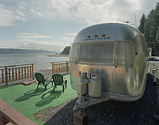 Airstream Mike's Beach by William Lemke (Color Photograph)